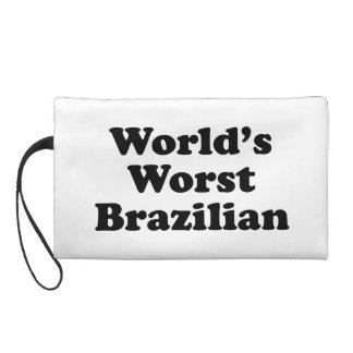 World's Worst Brazilan Wristlet Purse
