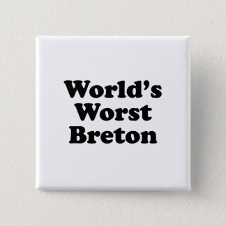 World's Worst Breton Button