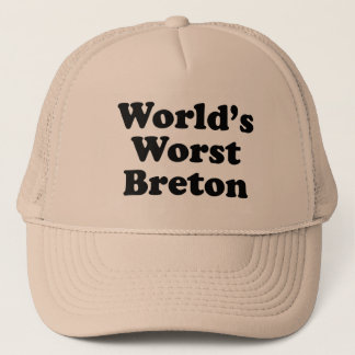 World's Worst Breton Trucker Hat