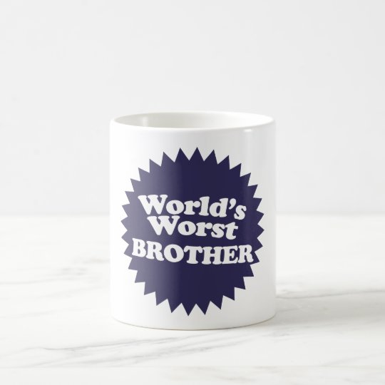 World's Worst Brother Coffee Mug