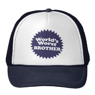 World's Worst Brother Trucker Hat