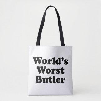 World's Worst Butler Tote Bag