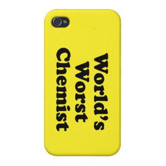 World's Worst Chemist iPhone 4/4S Covers