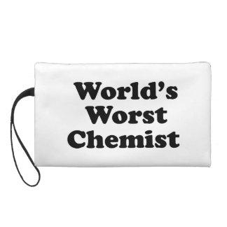 World's Worst Chemist Wristlet Purse