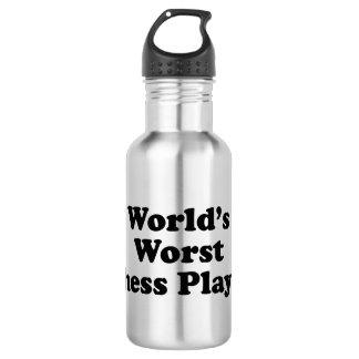 World's Worst Chess player Water Bottle