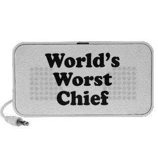 World's Worst Chief Mini Speaker