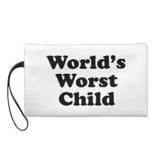 World's Worst Child Wristlet Purse
