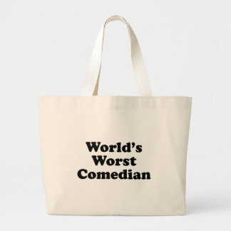 World's Worst Comedian Tote Bags