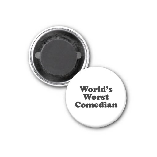 World's Worst Comedian Refrigerator Magnets