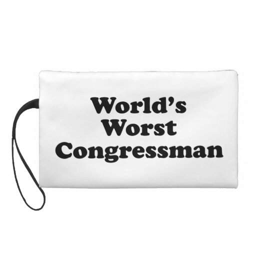 World's Worst Congressman Wristlets