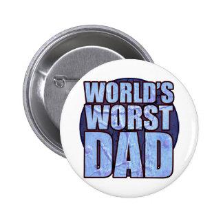 World's Worst Dad button