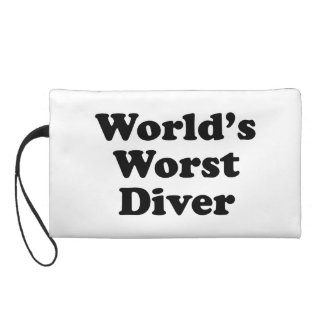 World's Worst Diver Wristlet Purses