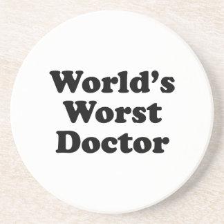 World's Worst Doctor Coasters