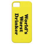 World's Worst Drinker iPhone 5 Covers