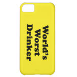 World's Worst Drinker iPhone 5C Covers