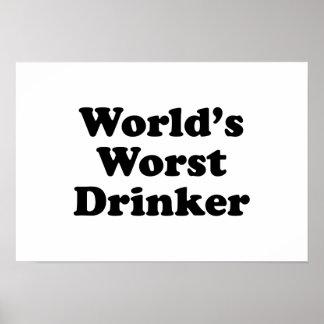 World's Worst Drinker Poster