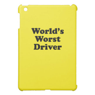 World's Worst Driver iPad Mini Cover
