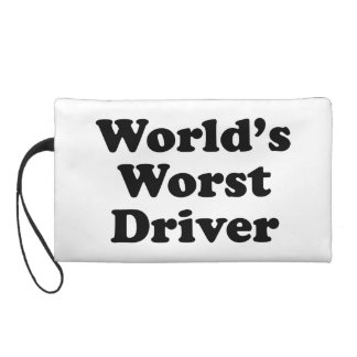 World's Worst Driver Wristlets