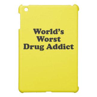 World's Worst Drug Addict iPad Mini Cases