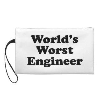 World's Worst Engineer Wristlet Clutches