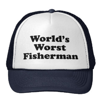 World's Worst Fisherman Mesh Hats