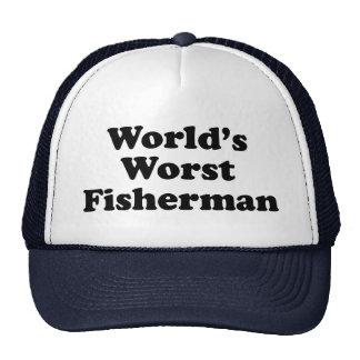 World's Worst Fisherman Mesh Hats