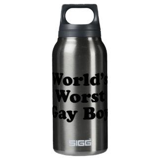 World's Worst Gay Boy Insulated Water Bottle