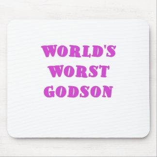 Worlds Worst Godson Mouse Pad