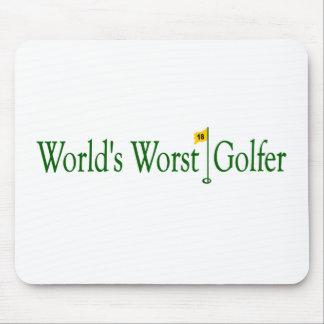 World'S Worst Golfer Mouse Pad