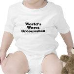 World's Worst Groomsman Baby Bodysuits