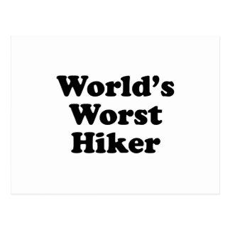 World's Worst Hiker Post Card