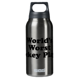 World's Worst Hockey Player Insulated Water Bottle