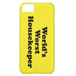 World's Worst Housekeeper iPhone 5C Cases