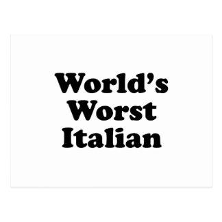 World's Worst Italian Postcard