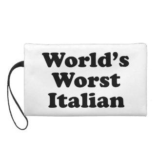 World's Worst Italian Wristlet Clutches