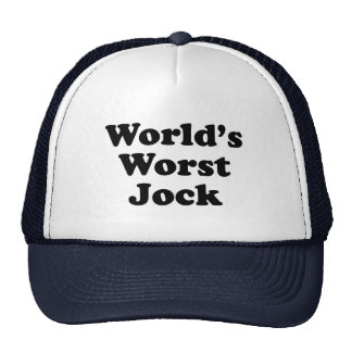 World's Worst Jock Mesh Hat