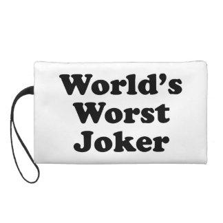 World's Worst Joker Wristlet Clutch