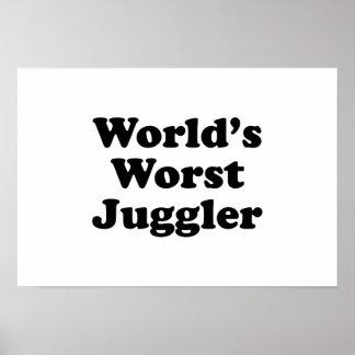 World's Worst Juggler Print