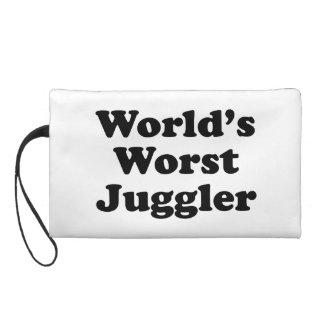 World's Worst Juggler Wristlet Clutches