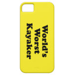 World's Worst Kayaker iPhone 5 Cover