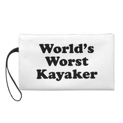 World's Worst Kayaker Wristlet Clutches