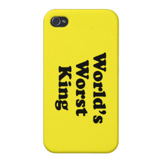 World's Worst King iPhone 4/4S Cases