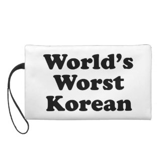 World's Worst Korean Wristlet