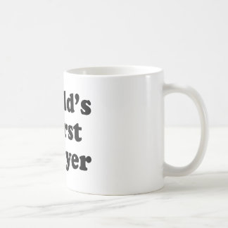 World's Worst Lawyer Basic White Mug