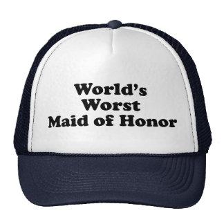World's Worst Maid of Honor Trucker Hat