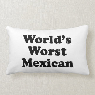 world's Worst Mexican Pillow