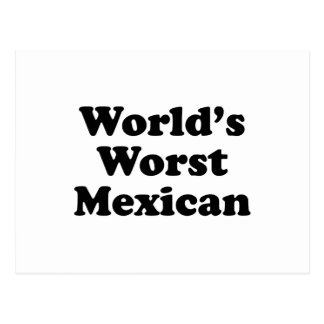 world's Worst Mexican Postcard