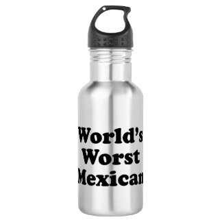 world's Worst Mexican Stainless Steel Water Bottle