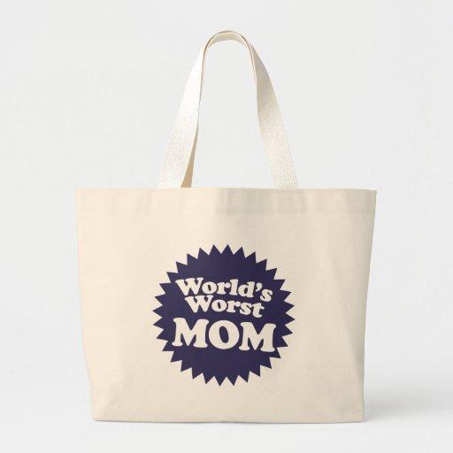 World's Worst Mom Tote Bag