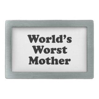 World's Worst Mother Belt Buckles
